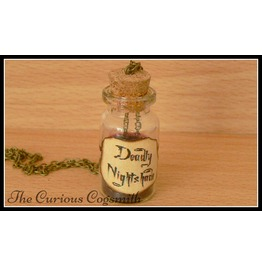 Deadly Nightshade Potion Necklace
