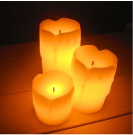 Home Decor Electric Flameless Candles D2