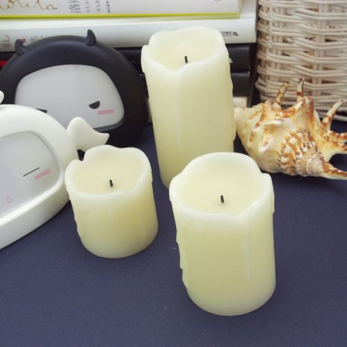 Home Decor Electric Flameless Candles D2 122707