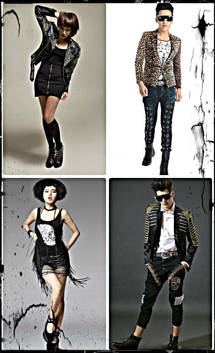 Rocker style clothing stores