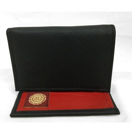 Rich Marbert Black Tri Fold Wallet
