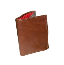 Rich Marbert Brown Tri Fold Wallet