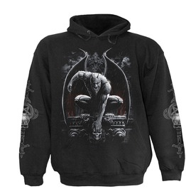 Men,S New Black Monster Stone Guardian Hoody