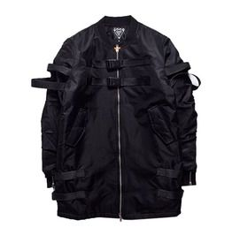 Cool Men's Jacket With Straps