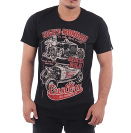 Eight Monday Shirt Vintage Hot Rod Rockabilly Custom Classic Cars Ford En22