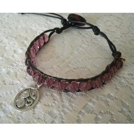 Om Bracelet, Boho Bohemian Hippie Hipster Buddhist Buddhism Yoga Zen