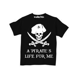 Kid's A Pirate's Life For Me Tee