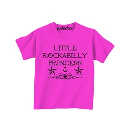 Kid's Rockabilly Princess Tee