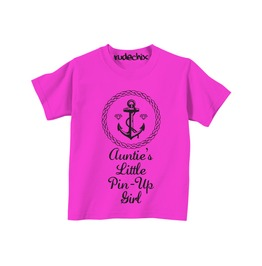 Kid's Auntie's Little Pin Up Girl Tee
