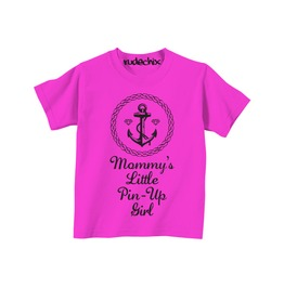 Kid's Mommy's Little Pin Up Girl Tee
