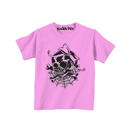 Kid's Girly Skull Tee