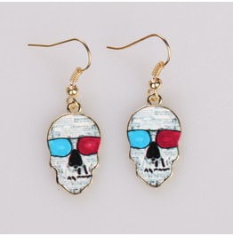 New Fashion Skull Earrings