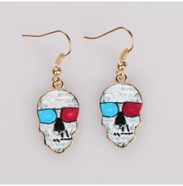 New Fashion Skull Earrings