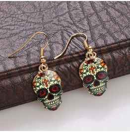 2016 Fashion Skull Earrings
