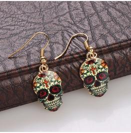 2016 Fashion Skull Earrings