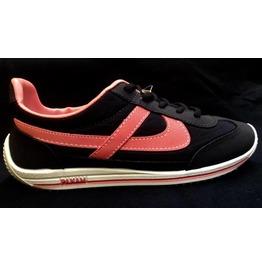 Panam Black & Pink Unisex Sneaker