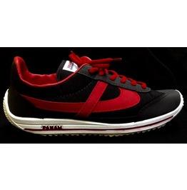 Panam Black & Red Unisex Sneaker