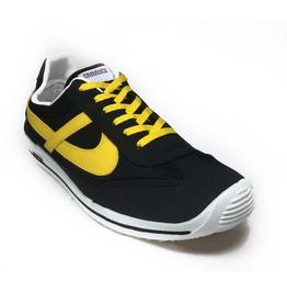 Panam Black & Yellow Unisex Vintage Style Sneaker