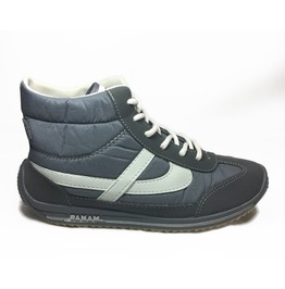 Panam Grey Hi Top Unisex Sneaker