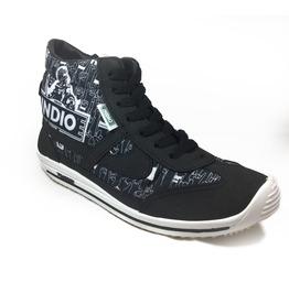Panam Indio Beer Hi Top Black Unisex Sneaker