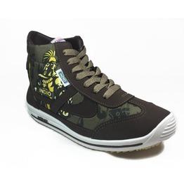 Panam Indio Beer Hi Top Brown Unisex Sneaker