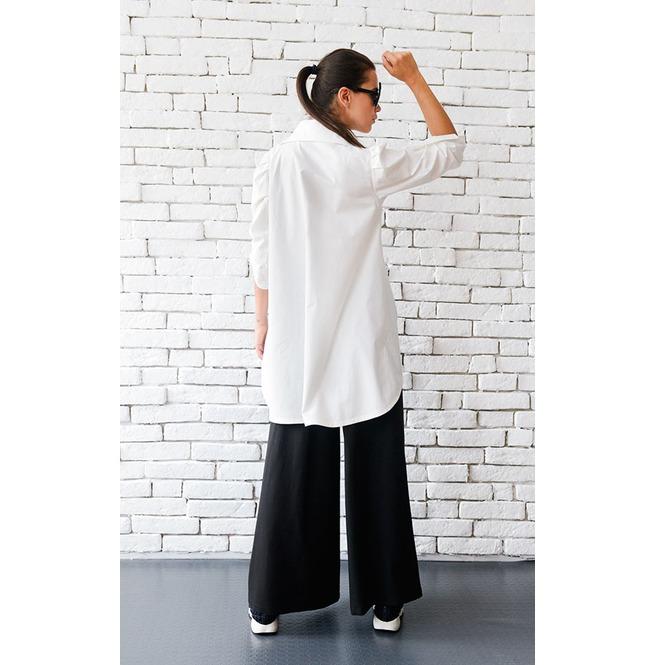 rebelsmarket_long_white_cotton_shirt_belted_shirt_asymmetric_top_loose_long_top_standard_tops_6.jpg