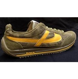 Panam Olive & Yellow Unisex Sneaker