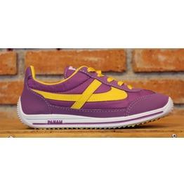 Panam Purple & Yellow Unisex Sneaker