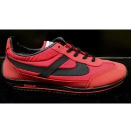Panam Red & Black Unisex Sneaker