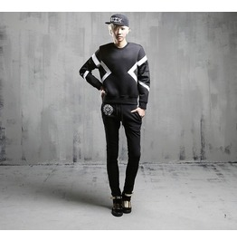 Autumn Winter New Fashion Men Space Cotton Sweatshirts