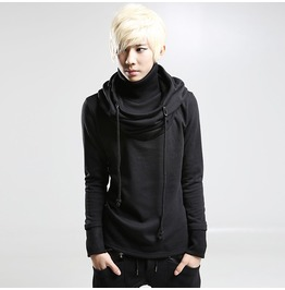 Trend Fashion Simple Design Men Hooded Sweatshirts