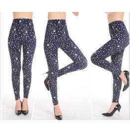Super Soft Night Sky Pentagram Printing Leggings Pantyhose