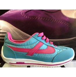 Panam Turquoise & Pink Unisex Sneaker