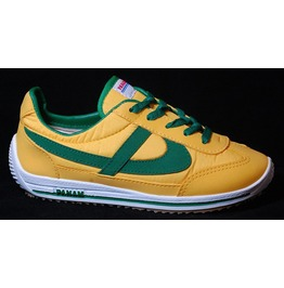 Panam Yellow & Green Unisex Vintage Style Sneaker