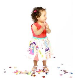 Child's Coral Frida Esperanza Dress