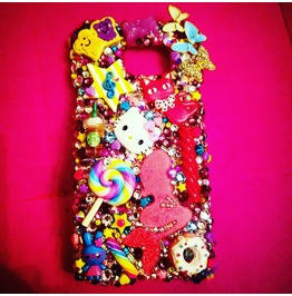 Custom Swarovski Cell Phone Case Read Description Hand Created