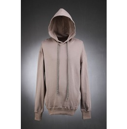Mens Side Zipper Loose Hood Shirts