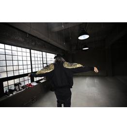 Sleeve Gold Wing Stud Sukajan Jumper