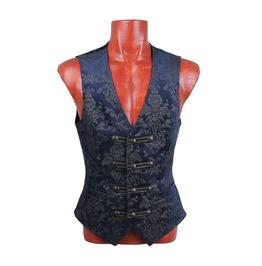 Punk Rave Men's Gothic Dress Vest Palace Waistcoat Y 452