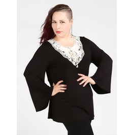 Forty Whacks Plus Size Victorian Top