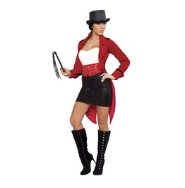 Sexy Ringmaster Circus Fetish 6 Piece Halloween Costume $9 To Ship