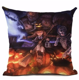 Unique Halloween Print Cushion Covers Cu6