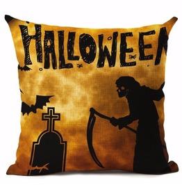 Unique Halloween Print Cushion Covers Cu10