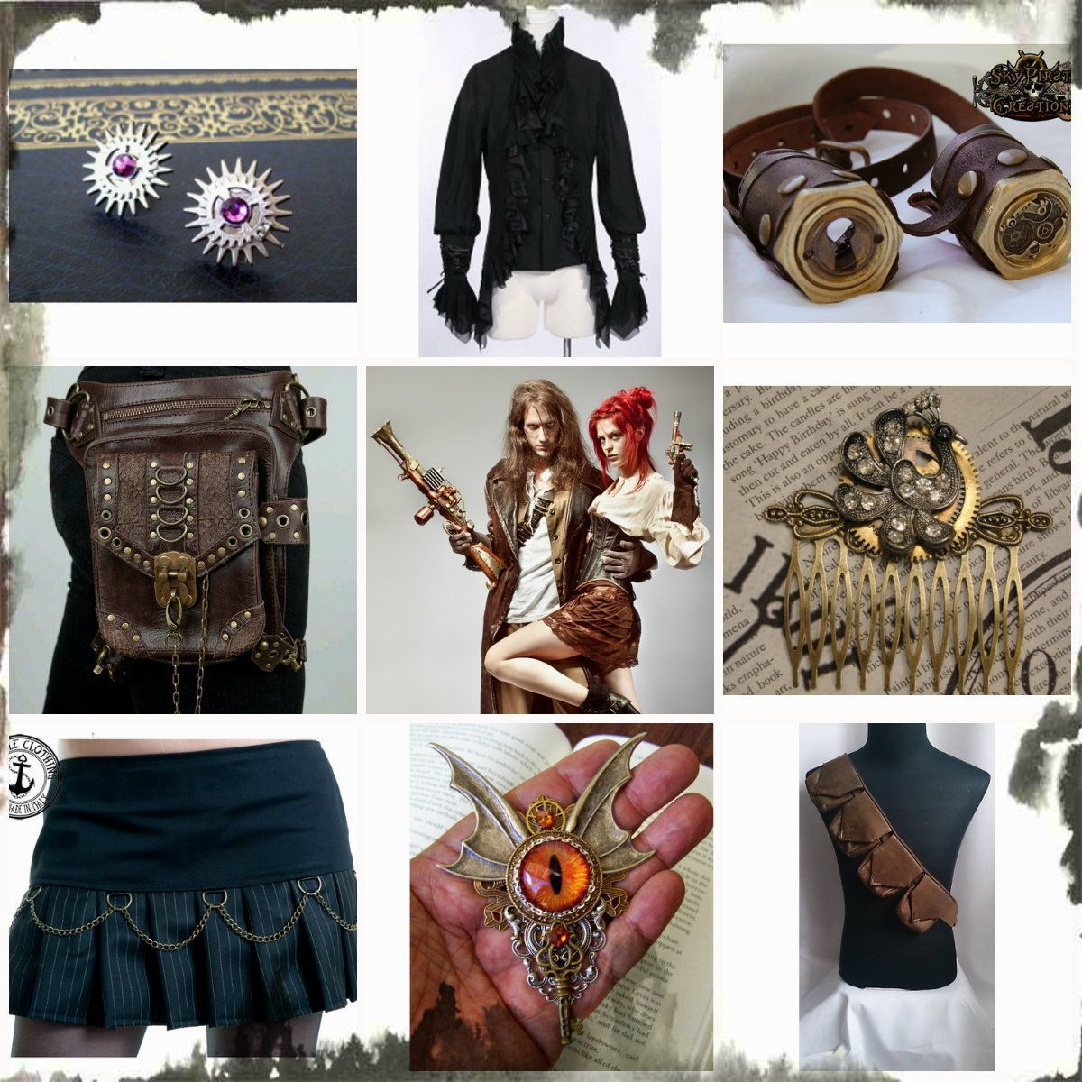 Top 20 steam punk fashion trends