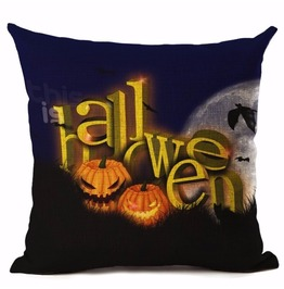 Unique Halloween Print Cushion Covers Cu12