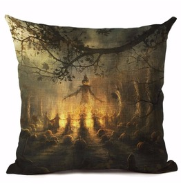 Unique Halloween Print Cushion Covers Cu13