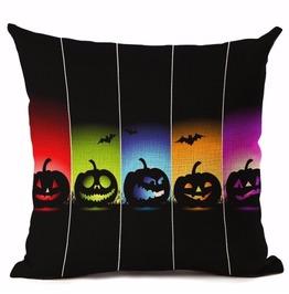 Unique Halloween Print Cushion Covers Cu18