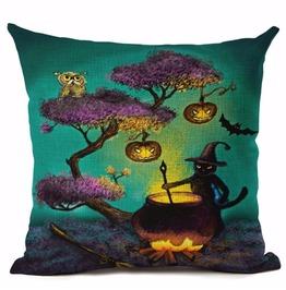 Unique Halloween Print Cushion Covers Cu21