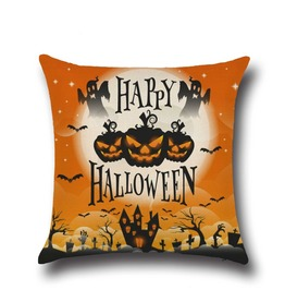 Unique Halloween Print Cushion Covers Cu22