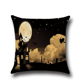 Unique Halloween Print Cushion Covers Cu23